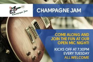 Champagne Jam