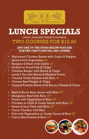 DSS_Dragon 88_Lunch Specials_Poster